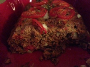 Meatless Meatloaf